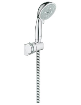 Grohe New Tempesta Rustic 100 Hand Shower With Hose And Holder