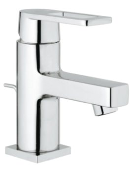 Grohe Quadra Deck Mounted Basin Mixer Tap With Pop-Up Waste