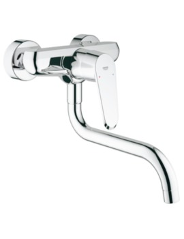 Grohe Eurodisc Cosmopolitan Single Lever Kitchen Sink Mixer Tap