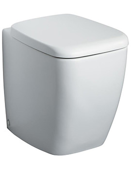 Ideal Standard Strada Back-To-Wall WC Pan With Seat And Cover 560mm