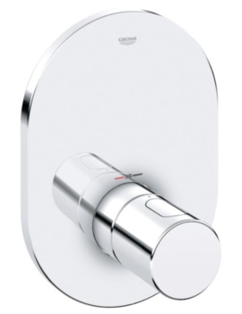 Grohe Grohtherm 3000 Cosmopolitan Trim For Thermostatic Shower Valve