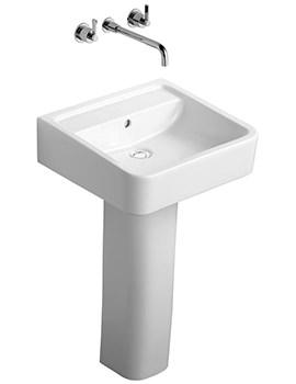 Ideal Standard White Cube 50cm Basin NTH