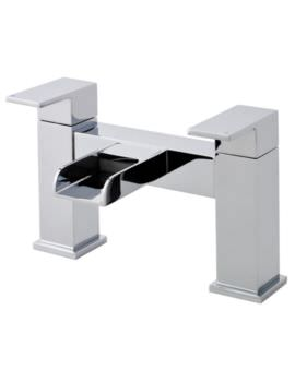 Hudson Reed Strike Open Spout Waterfall Bath Filler Tap