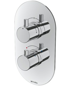 Methven Kaha 2 Outlet Concealed Thermostatic Shower Mixer Valve