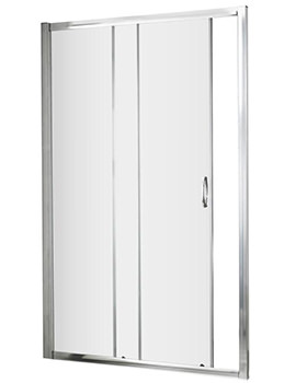 Premier Ella 1000 x 1850mm Single Sliding Shower Door