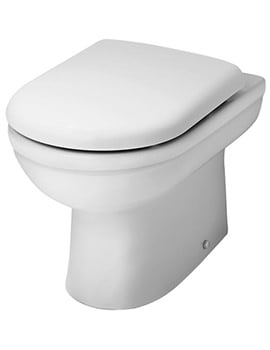 Premier Ivo WC Pan Back-To-Wall 550mm And Soft Close Seat