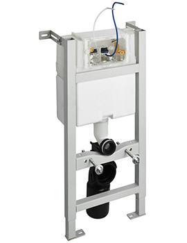Ideal Standard In-Wall 880mm WC Frame With Pneumatic Top Or Front Operation