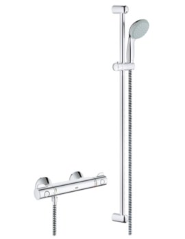 Grohe Grohtherm 800 Thermostatic Shower Mixer Valve With Shower Set