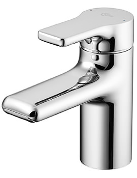 Ideal Standard Attitude Basin Mixer Tap With Waterfall Outlet
