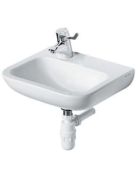 Armitage Shanks Portman 21 400mm 1 Left Hand Taphole Washbasin