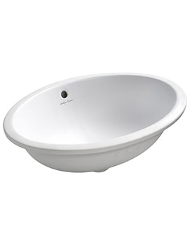 Armitage Shanks Marlow 560mm Under-Countertop Washbasin With Overflow