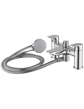 Ideal Standard Tesi 2 Hole Dual Control Bath Shower Mixer Tap And Kit