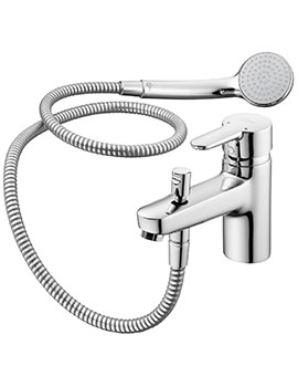 Ideal Standard Concept Blue Bath Shower Mixer With Shower Set