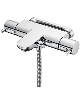 Ideal Standard Alto Ecotherm Chrome Bath Shower Mixer With Lever Handles