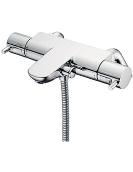 Ideal Standard Alto Ecotherm Bath Shower Mixer With Metal Pin Handles
