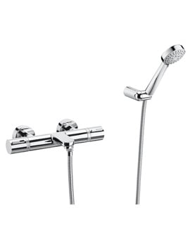Roca T-1000 Thermostatic Shower Mixer Tap And Kit