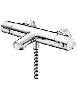 Ideal Standard Ceratherm 100 Bath Shower Mixer With Rim Mounted Legs