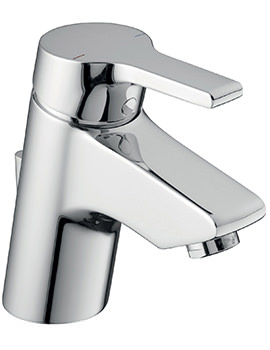 Ideal Standard Active Blue Basin Mixer Tap With Pop Up Waste