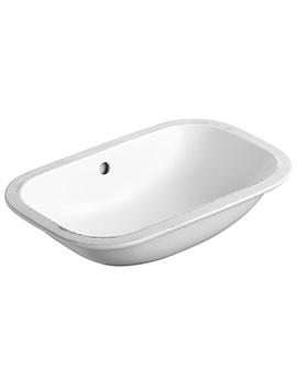 Armitage Shanks Contour 21 500mm Under-Countertop Glazed Back Washbasin