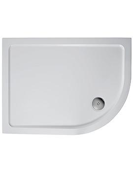 Ideal Standard Simplicity 1200 x 900mm LH Offset Quadrant Flat Top Tray
