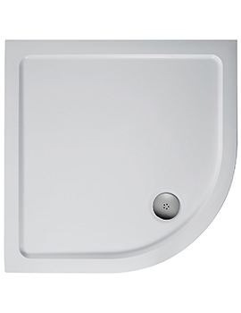 Ideal Standard Simplicity 900mm Quadrant Flat Top Shower Tray With Waste