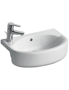 Ideal Standard Concept Space Arc 50cm Semi-Countertop Basin LH Taphole