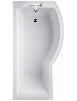 Ideal Standard Concept Idealform Shower Bath 1700 x 700mm Right Hand