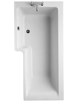 Ideal Standard Concept Idealform 1700mm Left Handed Shower Bath
