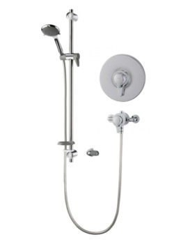 Triton Eden Extended Concentric Mixer Shower Valve With Shower Kit