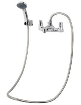 Triton Exe Bath Shower Mixer Tap With Handset And Hose