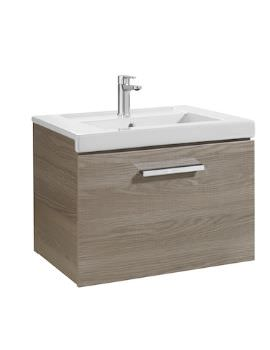Roca Prisma Unik 600 x 450mm Base Unit With One Drawer And Basin