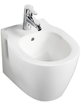 Ideal Standard Concept Space Compact Wall Mounted 1 TH Bidet