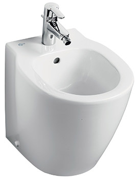 Ideal Standard Concept Space Compact Floorstanding Back-To-Wall Bidet