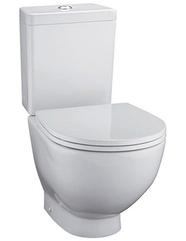 Ideal Standard White Closed Couple Back To Wall WC Pan 530mm