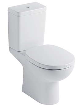 Ideal Standard Studio Close Coupled WC Pan With Horizontal Outlet