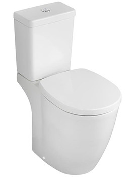 Ideal Standard Concept Freedom Raised Height Close Coupled WC Set 655mm