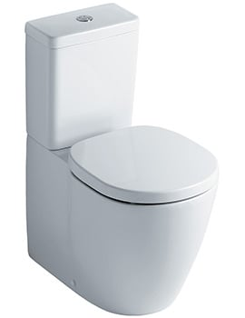 Ideal Standard Concept Cube Close Coupled Back-To-Wall WC Pan