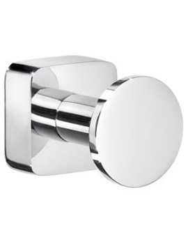 Smedbo Ice Polished Chrome Towel Hook