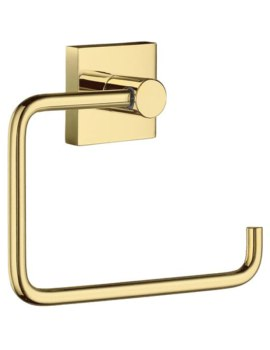 Smedbo House Polished Brass Toilet Roll Holder