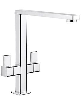 Rangemaster Metrix Monobloc Dual Lever Kitchen Sink Mixer Tap