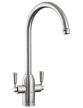 Rangemaster GEO Classic 4-In-1 Brushed Finish Boiling Water Tap