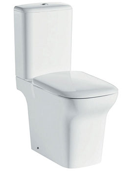 Pura Grace Rimless Comfort Height Close Coupled Open Back WC Set 650mm