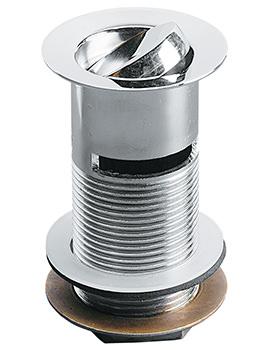 Armitage Shanks 1.25 Inch Anti Theft Slotted Swivel Plug Basin Waste