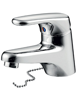 Armitage Shanks Sandringham SL Basin Mixer Tap With Weighted Chain