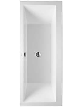 Duravit Vero 1700 x 750mm Built-In Bath With Support Frame