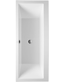 Duravit Vero 1700 x 700mm Built-In Bath With Support Frame