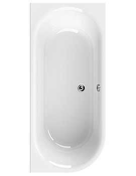 Aquaestil Metauro 2 1800 x 800mm Corner Bath