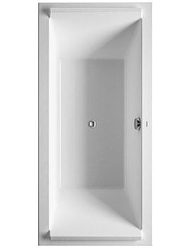 Duravit Starck 1800 x 800mm Rectangular Double Ended Built-In Bath