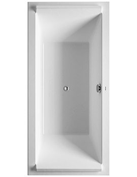 Duravit Starck 1900 x 900mm Double Ended Built-In Bath.