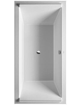 Duravit Starck 2000 x 1000mm Rectangular Double Ended Built-In Bath